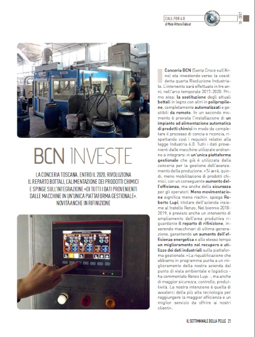BCN invests 2017
