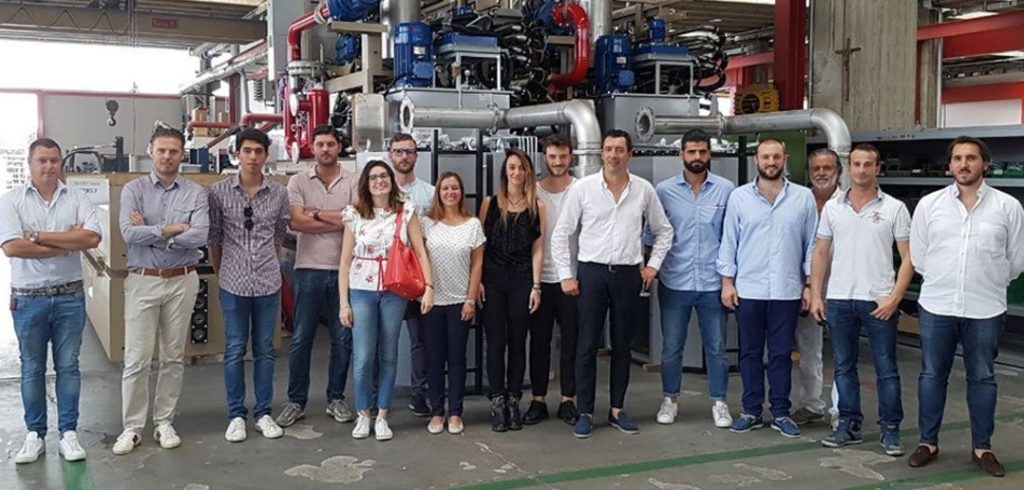 From Tuscany to Veneto, Young Tanners visiting from Cartigliano and Gemata